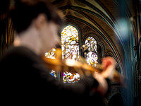 Salisbury Cathedral Concert and Rehearsal 2015