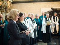 0073rd May 2016 - Salisbury Cathedral  Canon Installations - photo by Ash Mills