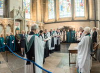 0163rd May 2016 - Salisbury Cathedral  Canon Installations - photo by Ash Mills