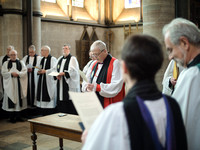 0043rd May 2016 - Salisbury Cathedral  Canon Installations - photo by Ash Mills