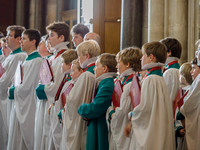 019 7th May 2016 - Salisbury Cathedral - Boys Making Up - photo by Ash Mills