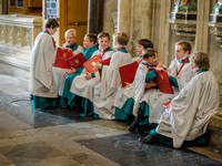 003 7th May 2016 - Salisbury Cathedral - Boys Making Up - photo by Ash Mills