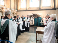 0143rd May 2016 - Salisbury Cathedral  Canon Installations - photo by Ash Mills