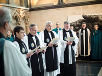 0153rd May 2016 - Salisbury Cathedral  Canon Installations - photo by Ash Mills