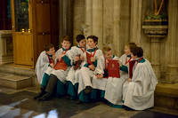 009 Salisbury Cathedral - Boy Choristers Making Up - 24thJan2015 - by Ash Mills