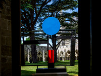 073 7thJuly2017 - Barbara Hepworth Crucifixion at Salisbury Cathedral -Photo by Ash Mills