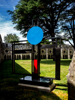 078 7thJuly2017 - Barbara Hepworth Crucifixion at Salisbury Cathedral -Photo by Ash Mills