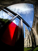 080 7thJuly2017 - Barbara Hepworth Crucifixion at Salisbury Cathedral -Photo by Ash Mills