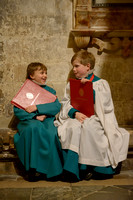 007 Salisbury Cathedral - Boy Choristers Making Up - 24thJan2015 - by Ash Mills