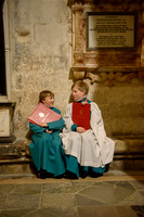 006 Salisbury Cathedral - Boy Choristers Making Up - 24thJan2015 - by Ash Mills