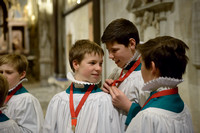 019 Salisbury Cathedral - Boy Choristers Making Up - 24thJan2015 - by Ash Mills