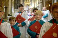 012 Salisbury Cathedral - Boy Choristers Making Up - 24thJan2015 - by Ash Mills