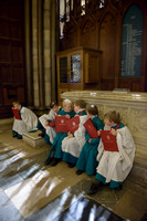 002 Salisbury Cathedral - Boy Choristers Making Up - 24thJan2015 - by Ash Mills