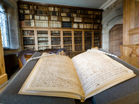 Christopher Wren book  -at the  Library