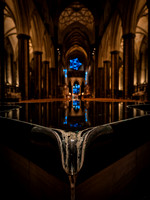 00917th November 2017  - Salisbury Cathedral - Star of Bethlehem by Jayson Haebich -  photo by Ash Mills