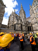 004  22ndSept2016 - Salisbury Cathedral Topping Out- Photo by Ash Mills