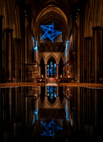 00617th November 2017  - Salisbury Cathedral - Star of Bethlehem by Jayson Haebich -  photo by Ash Mills