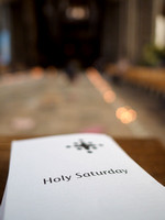 002  Holy Saturday at Salisbury Cathedral - photo by Ash Mills